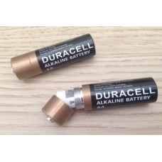AA size Duracell stash battery