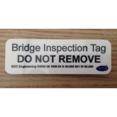 Custom Inspection Tag (magnetic)