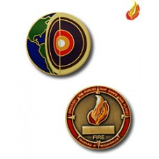 Four elements Micro Geocoin Fire