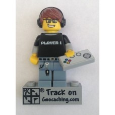 Trackable Gamer (PLAYER 1) Lego figure
