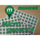 Micro Generic sticker (12 x 12mm) - 50 Micro generics