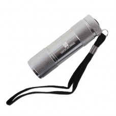 Official Geocaching Logo LED Aluminium Torch / Flashlight