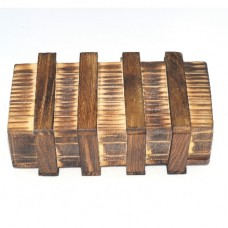 Large wooden box puzzle: