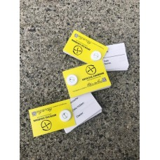 Micro 35mm RITR All weather logbook YELLOW cover (x1)