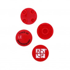 Trackable 2 Piece Round Micro Brick Coin - RED