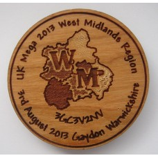 West Midlands Mega Committee Wooden Coin (double sided)