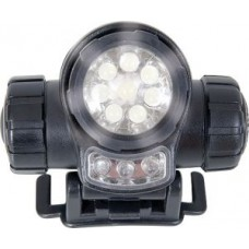 Web -Tex 3 Function LED Head Torch (with 3 x AAA batteries)