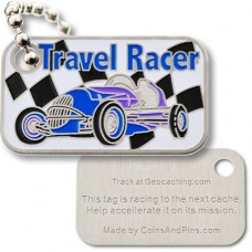 The Travel Racer Antique Blue